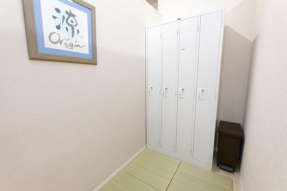 検査更衣室