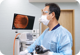 鎮静剤のよる苦痛の少ない内視鏡検査